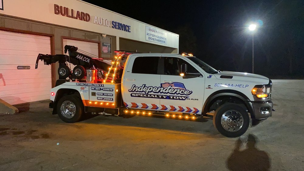 Towing business in Independence, MO