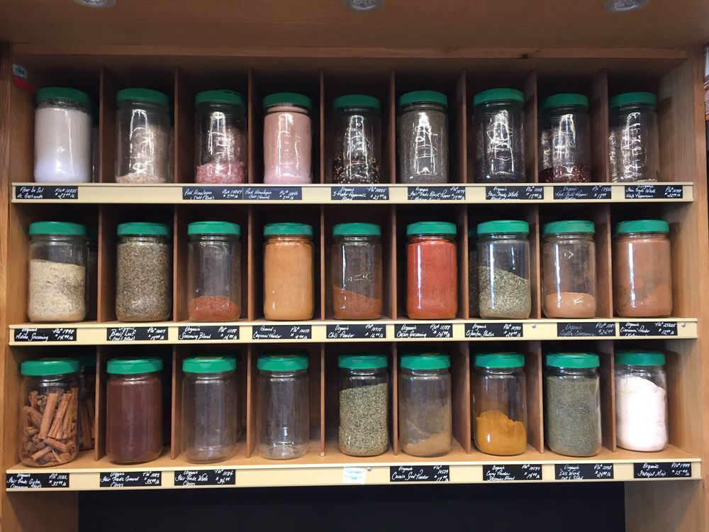 Bulk food options for zero waste! Spices - Yelp