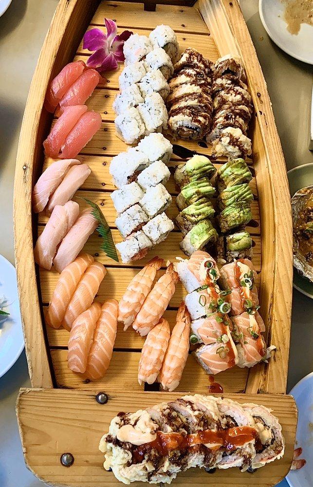 Food from Sushi Uokura