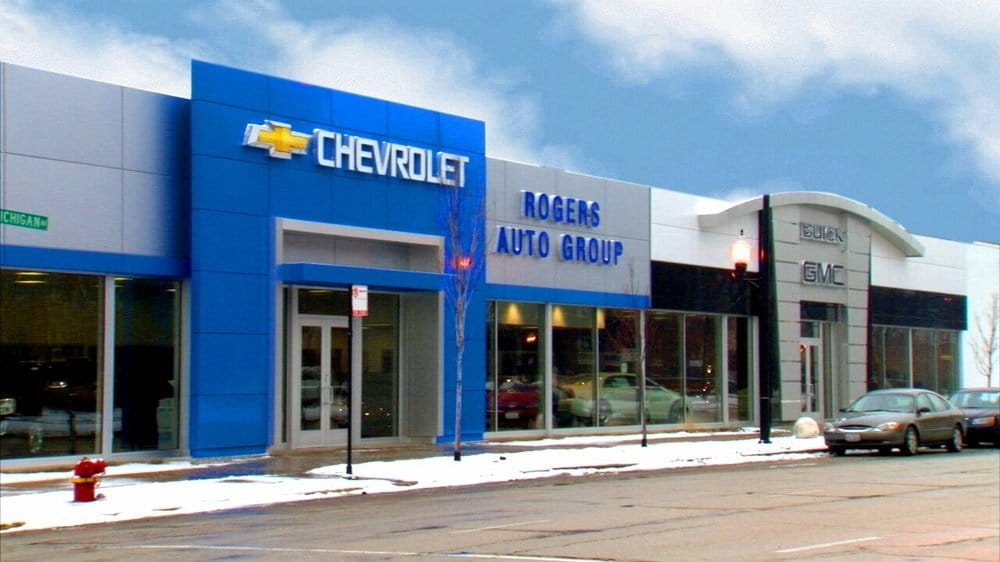 Rogers Auto Group >> The Newly Renovated Rogers Auto Group Chicago S Auto Store A