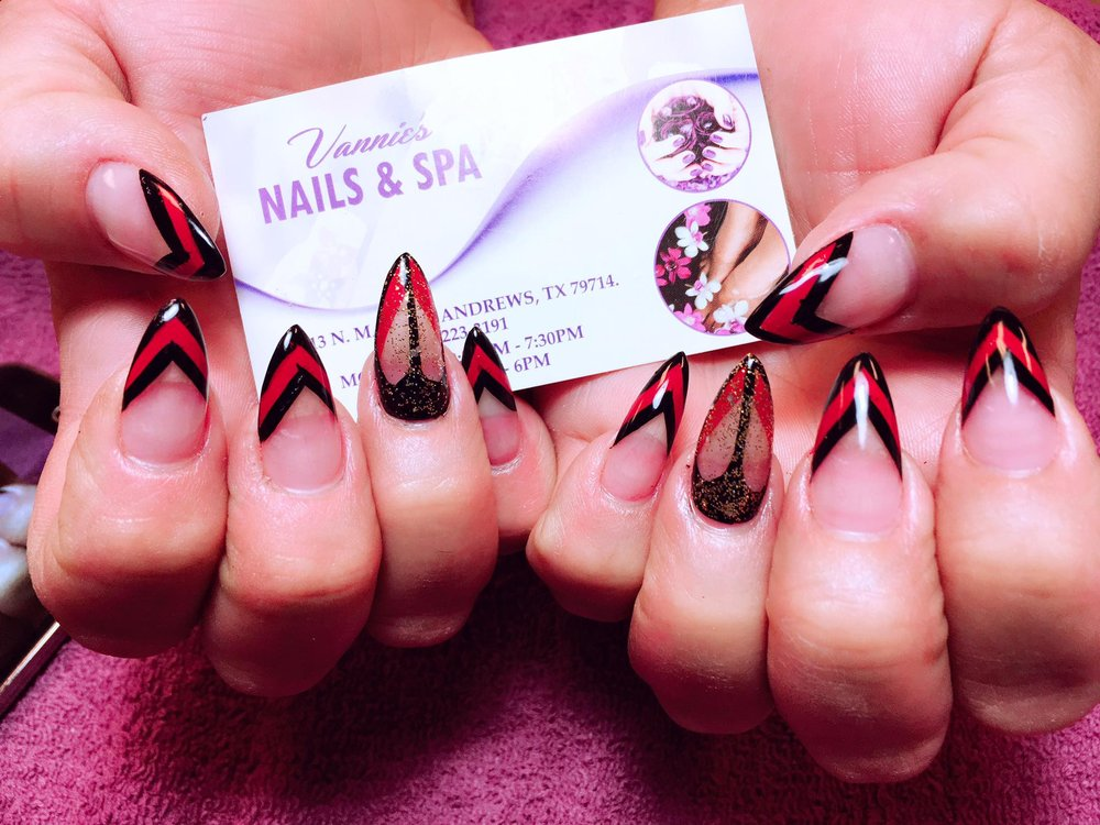 Vannie Nails and Spa: 1313 N Main St, Andrews, TX