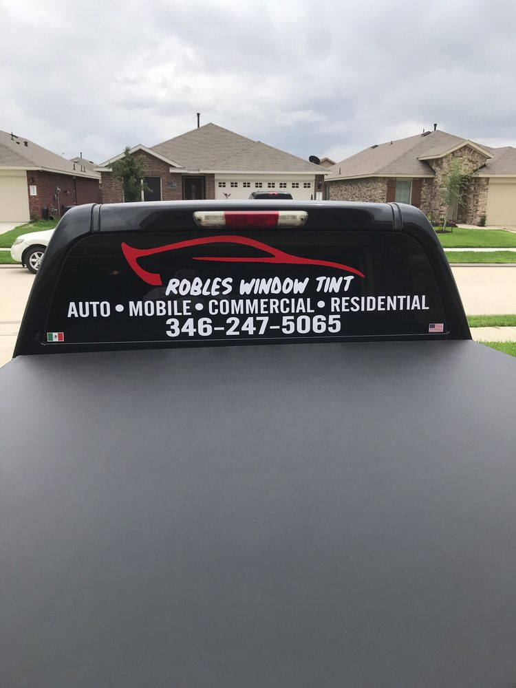 Robles Window Tint: Channelview, TX