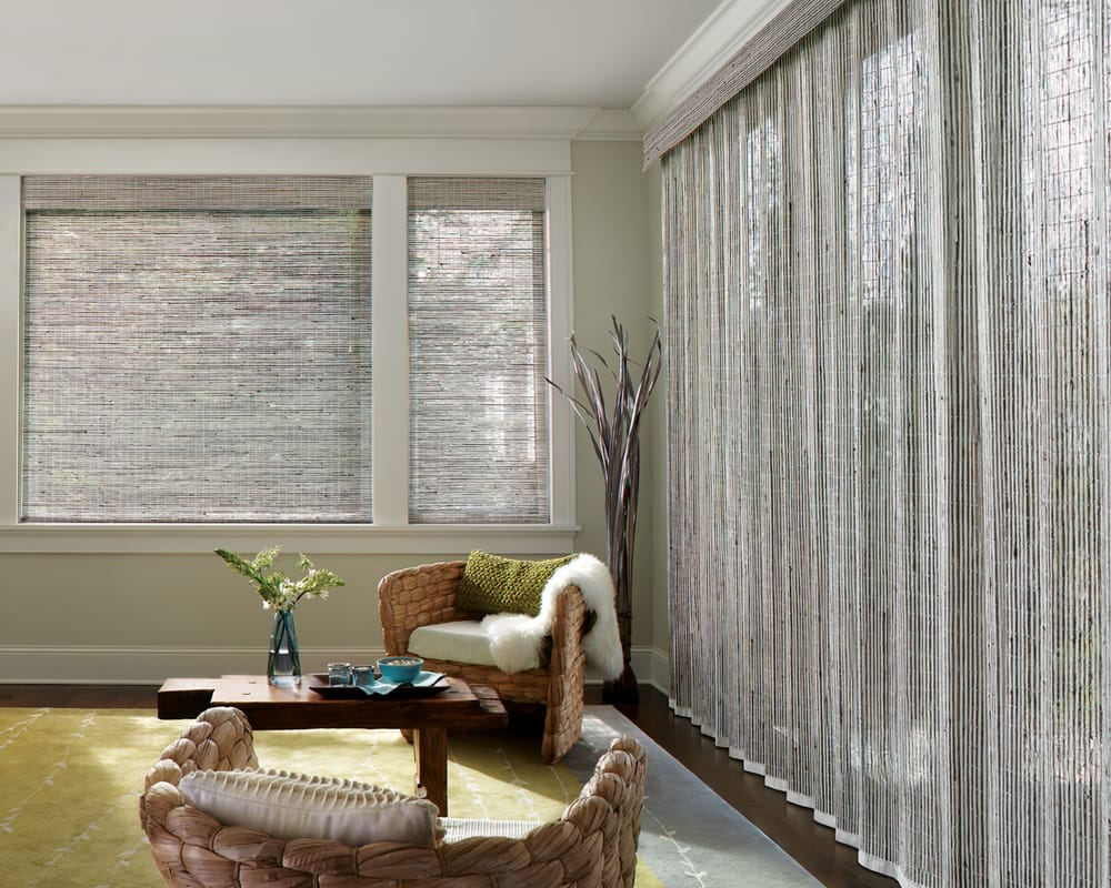 Provenance 174 Woven Wood Shades With Continuous Cord Loop In