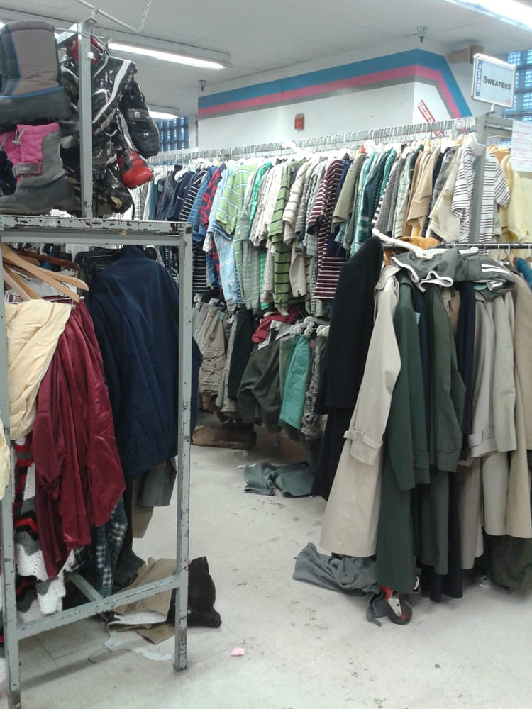 Used clothing stores chicago