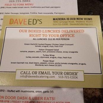 Daveed S Restaurant Catering Cincinnati Oh