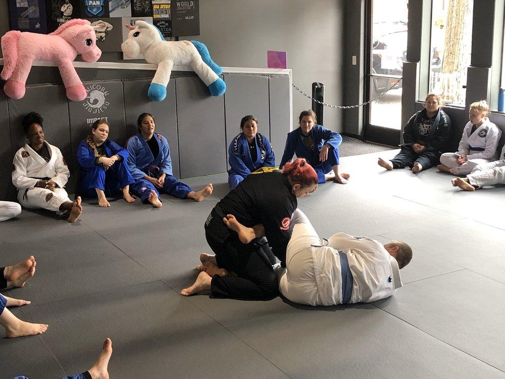 Unicorn Jiu Jitsu: 8502 SE Stark St, Portland, OR