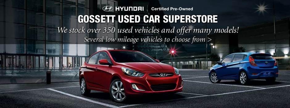 Gossett Hyundai South Car Dealers 2660 Mount Moriah Rd