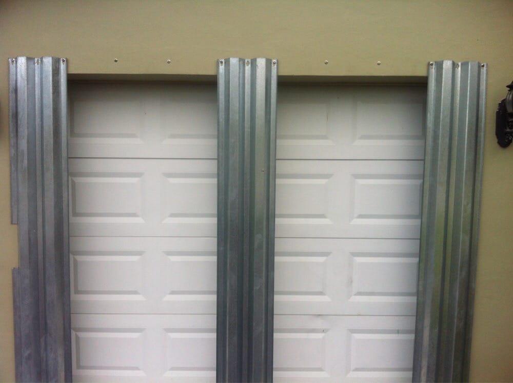 Garage Door With Hurricane Panels Yelp