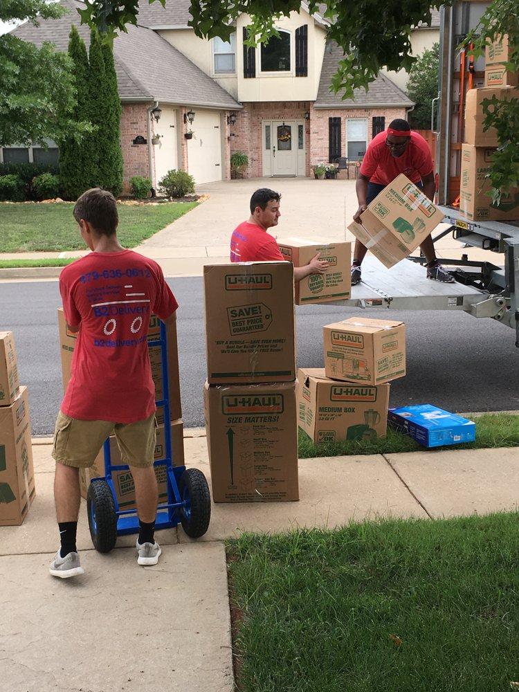 B2 Moving: 208 W Hudson Rd, Rogers, AR