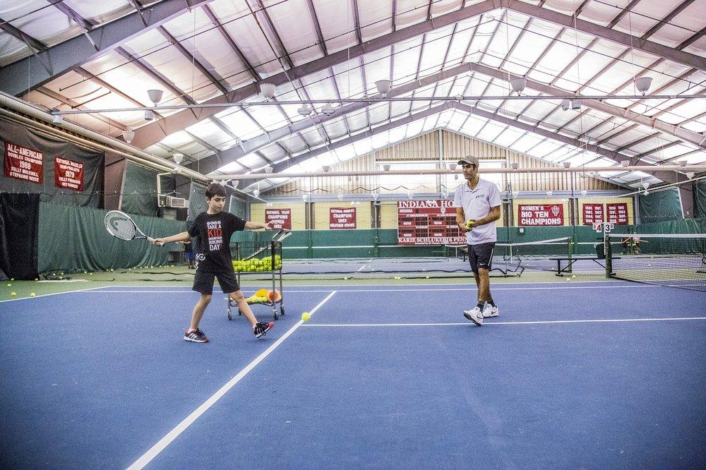 IU Tennis Center: 1833 N Fee Ln, Bloomington, IN