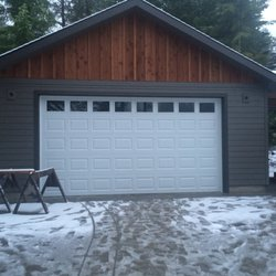 Photo Of On Track Garage Doors   Vancouver, WA, United States. 16x8  Insulated