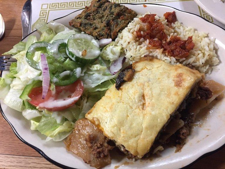 Peters Greek Kitchen Waltham Menu