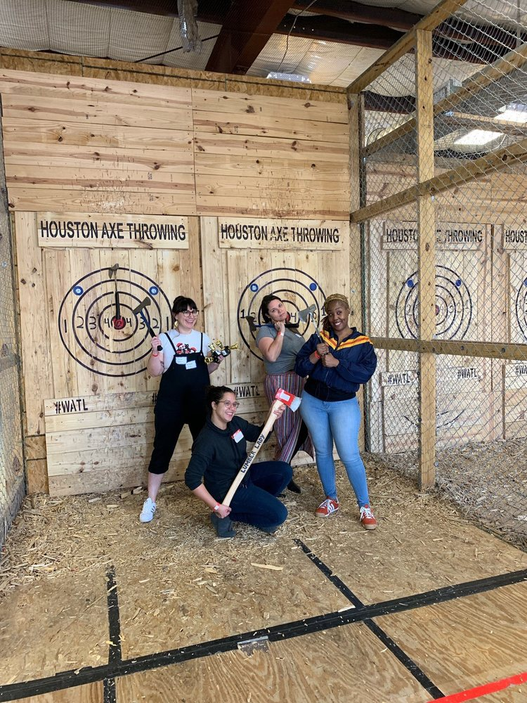 Houston Axe Throwing: 6734 Larkwood Dr, Houston, TX