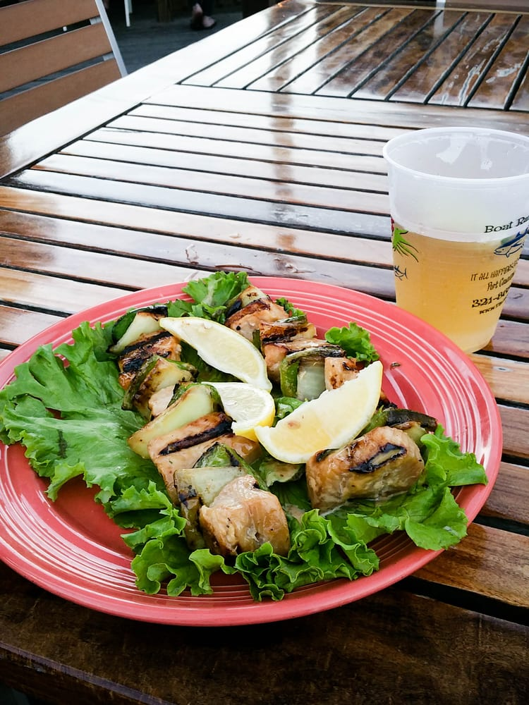 Grilled shark kabobs yelp - Grills seafood deck tiki bar ...