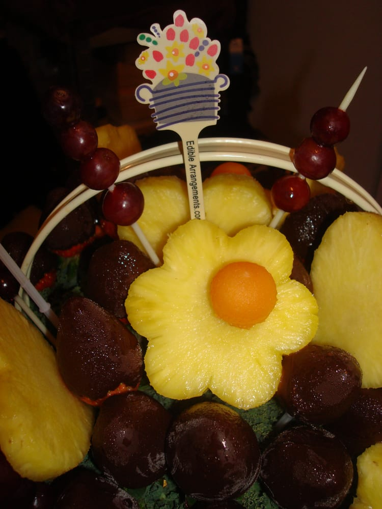 Pineapples Cantaloupe Grapes Chocolate Covered