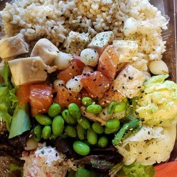 Poke n salad 133 photos 82 reviews sushi bars for Fish me poke menu