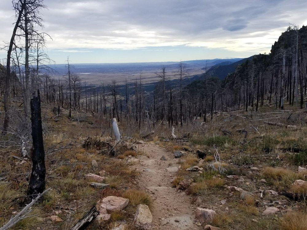 South Mesa Trailhead: Eldorado Springs Dr W Hyw 93, Boulder, CO
