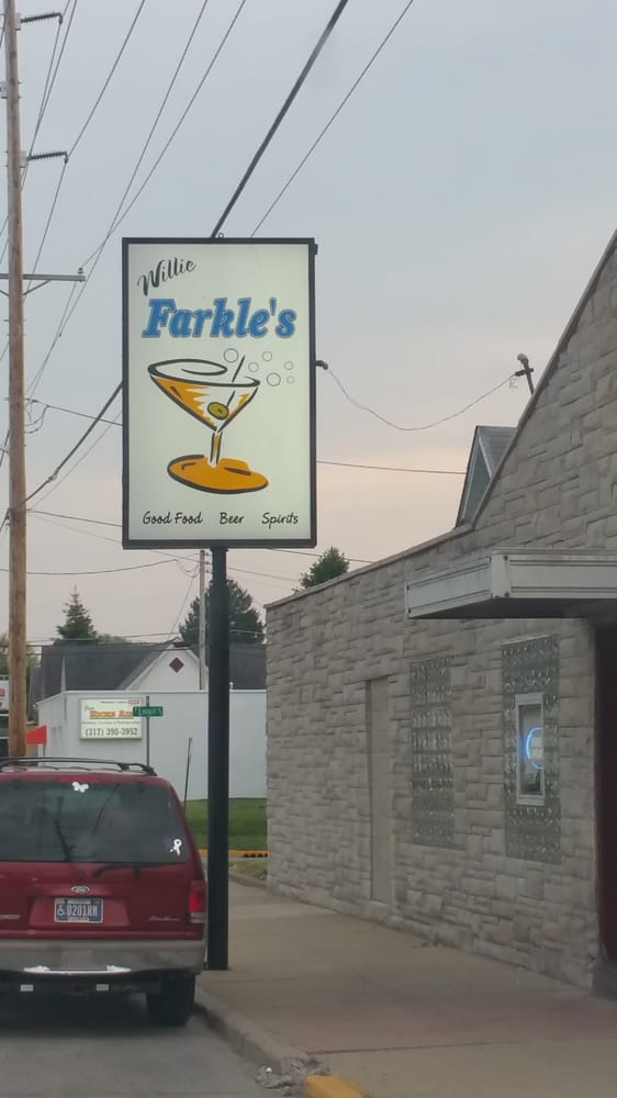 Willie Farkle's: 639 S Noble St, Shelbyville, IN
