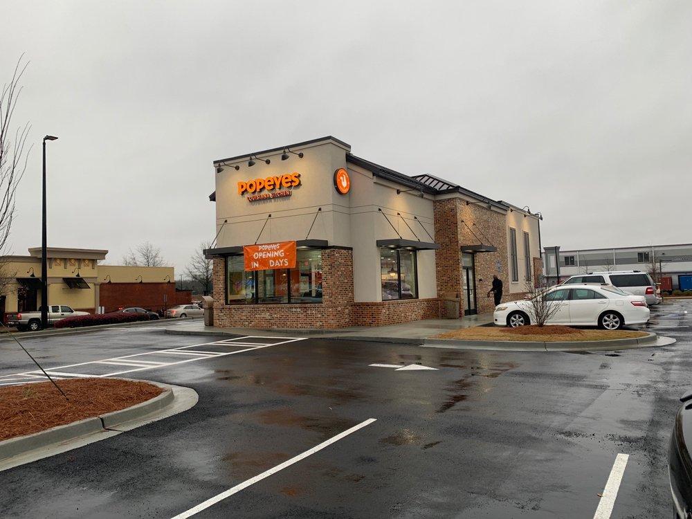 Popeys Chicken: 119 Exchange Way, Braselton, GA