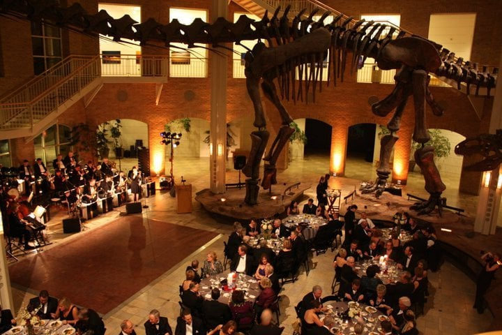 The Fernbank Museum of Natural History, located in Atlanta, Georgia, was founded in and is situated on 65 acres of an urban forest. Featuring permanent and special exhibitions, the Fernbank Museum of Natural History is visited by approximately , people each year.