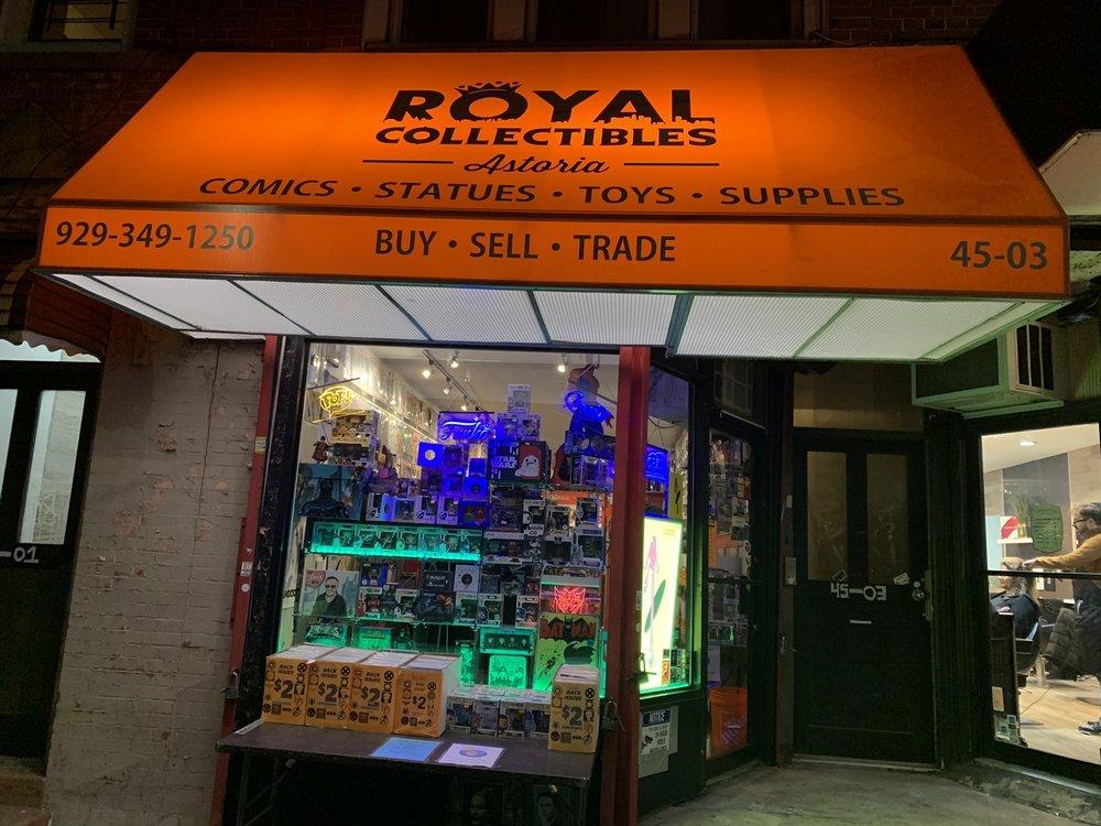 Royal Collectibles Astoria: 45-03 Broadway, Astoria, NY