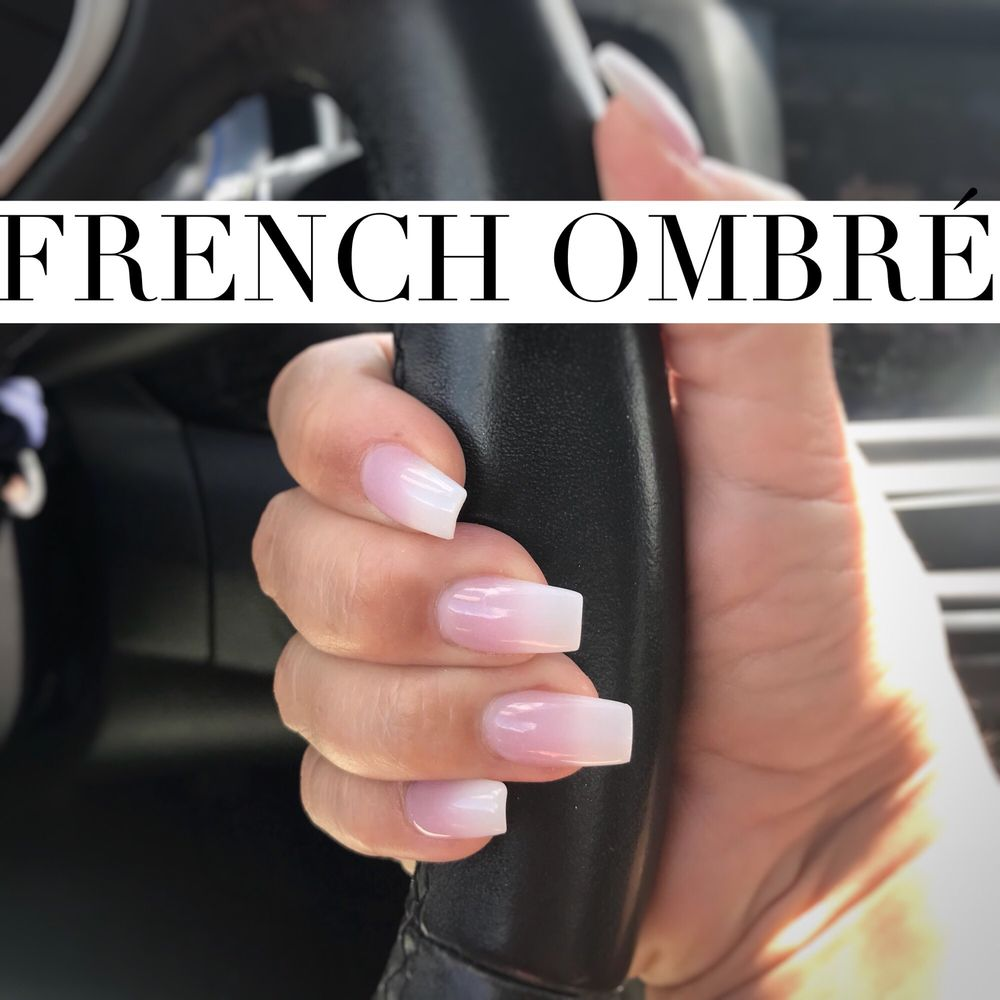 John created this classy French Ombre Manicure. - Yelp