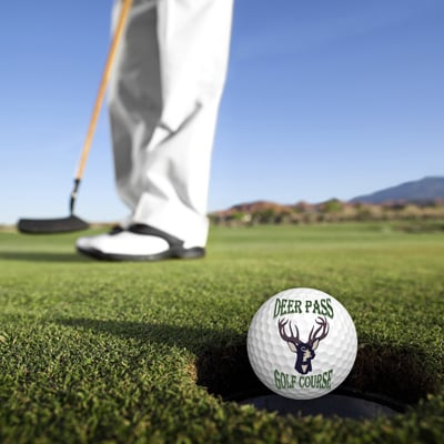 Deer Pass Golf Course: 5886 Greenwich Rd, Seville, OH