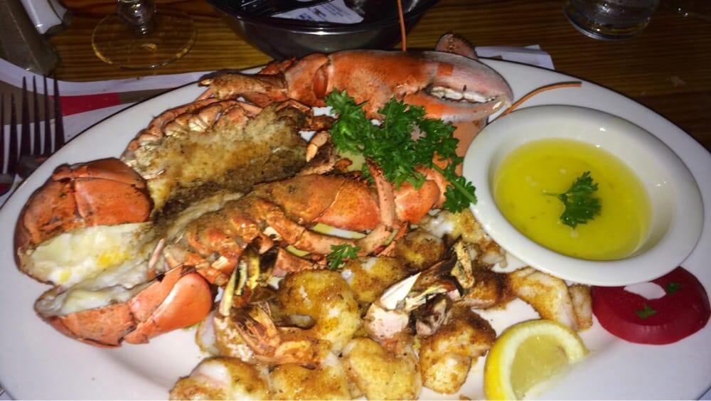 Whole main lobster and shrimp scampi yelp for Sammy s fish box