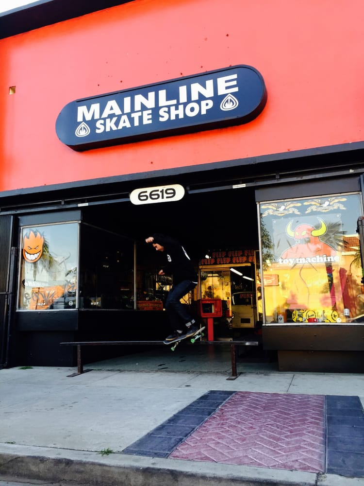 Mainline Skate Shop: 6619 Atlantic Ave, Bell, CA