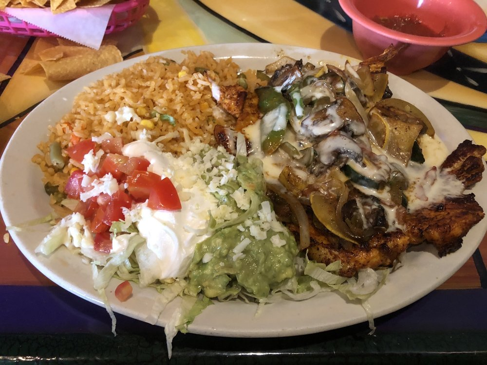 Food from Margaritas Mexican Restaurant