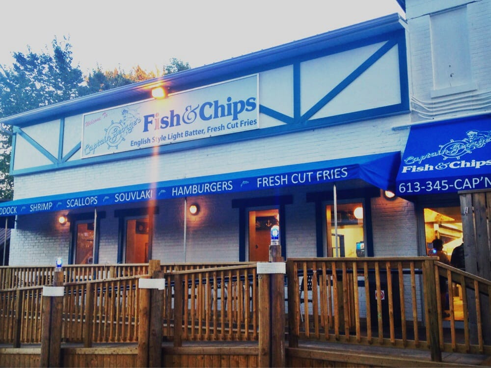 Captain george s fish n chips fish chips 241 park for Best place for fish and chips near me