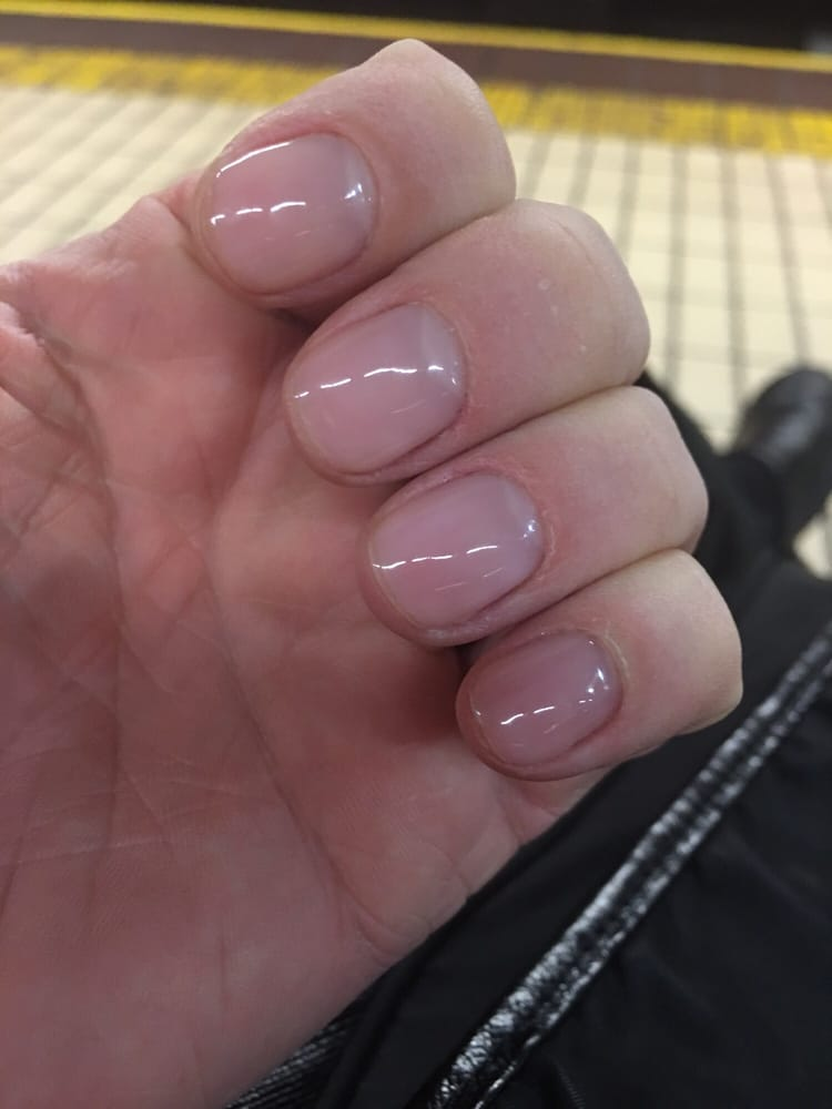 I work with my hands and the nail polish always chips just about the ...