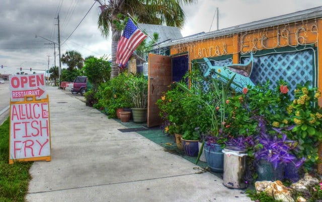 Street appearance of maria 39 s yelp for Fish restaurant fort myers
