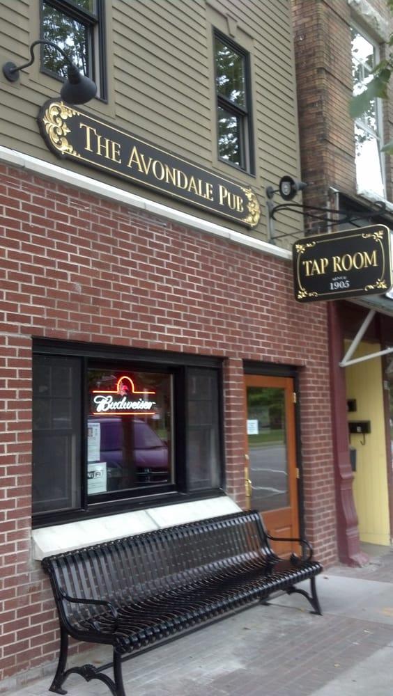 The Avondale Pub: 37 Genesee St, Avon, NY