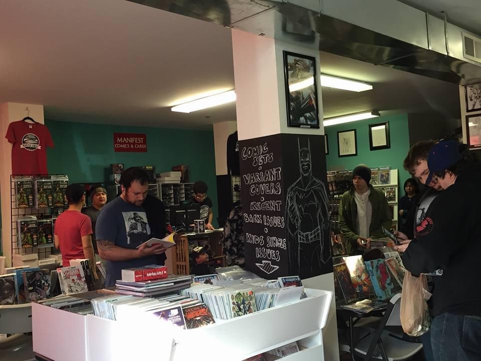 Manifest Comics & Cards: 766 Broadway, Bayonne, NJ