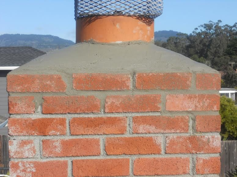 Chimney repair after photo Yelp