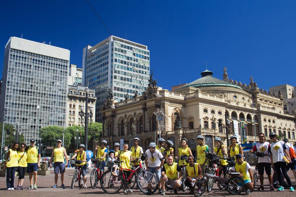 o - Bike tour gratuito em São Paulo