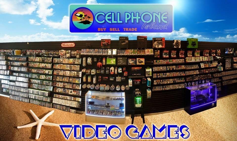 Cell Phone Island: 1023 State Hwy 361, Port Aransas, TX