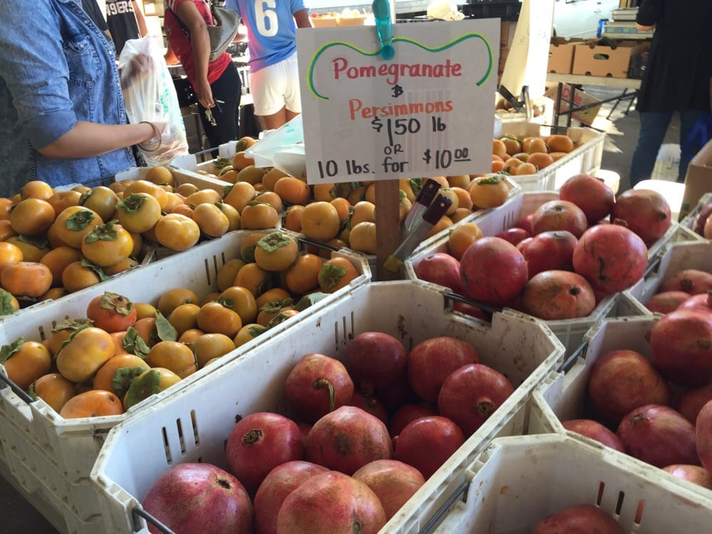Persimmon and pomegranate season! - Yelp