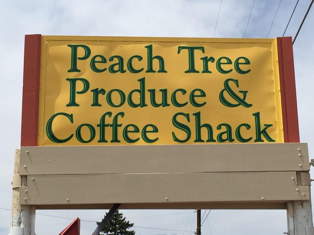 Peach Tree Produce and Coffee Shack: 81700 Peach Tree Ln, Umatilla, OR