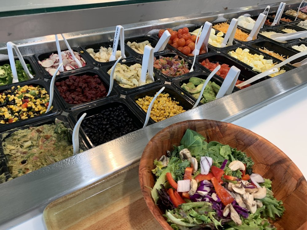 Food from The Salad Station