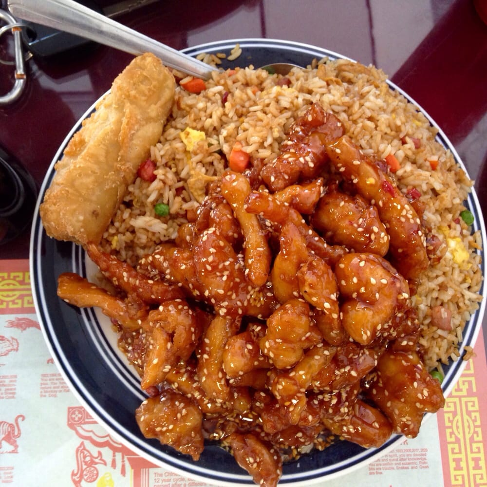 Chinese Food Take Out Combination