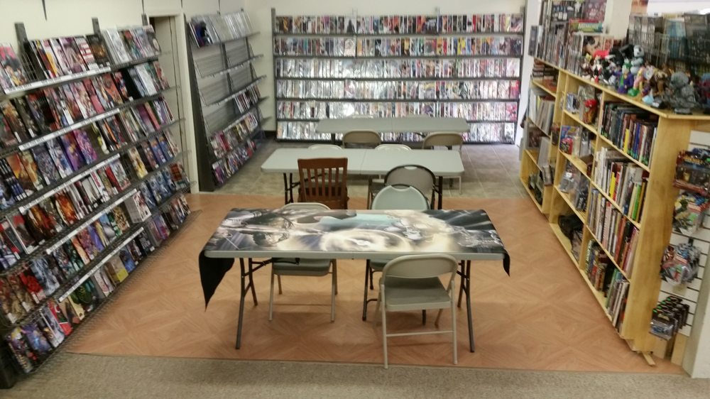 Merrymac Games and Comics: 550 Daniel Webster Hwy, Merrimack, NH