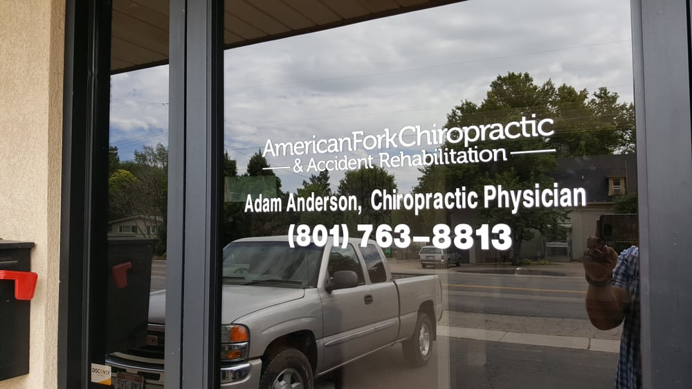 American Fork Chiropractic & Accident Rehabilitation: 95 E 200th N, American Fork, UT