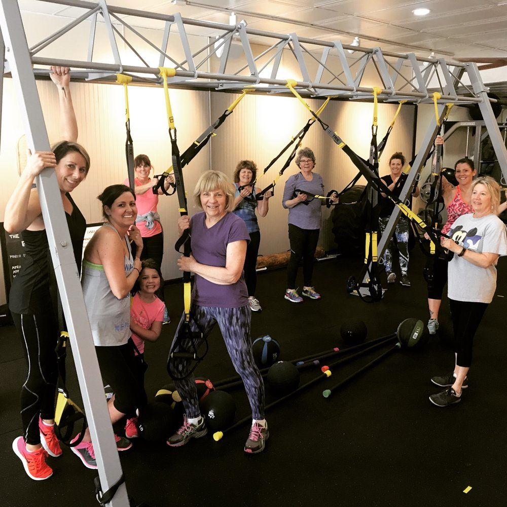 The garage fitness photos cardio classes cole st