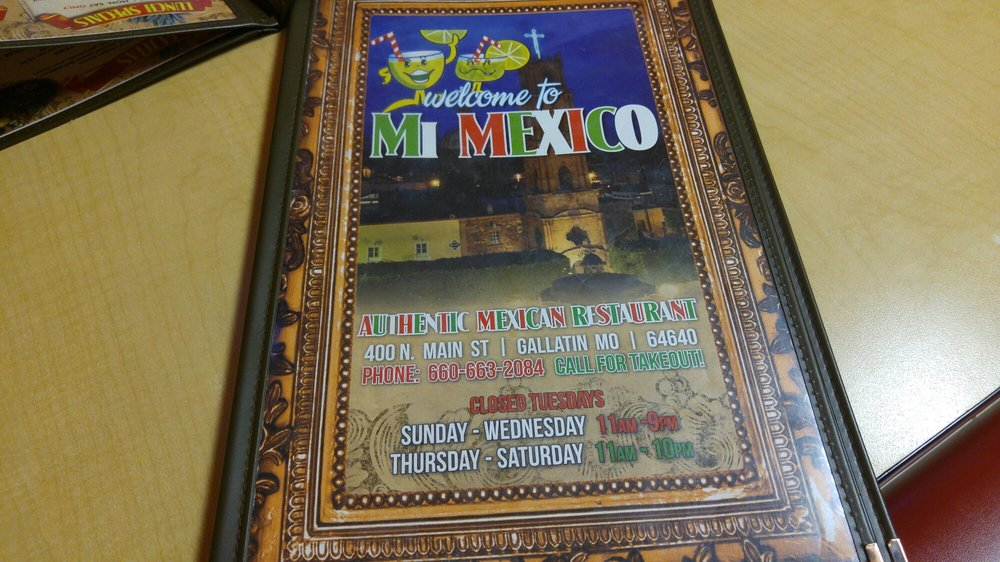 Mi Mexico: 400 N Main, Gallatin, MO