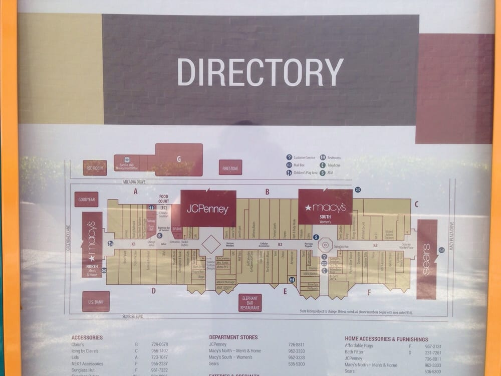 Sunrise Auto Mall >> Directory of sunrise mall - Yelp