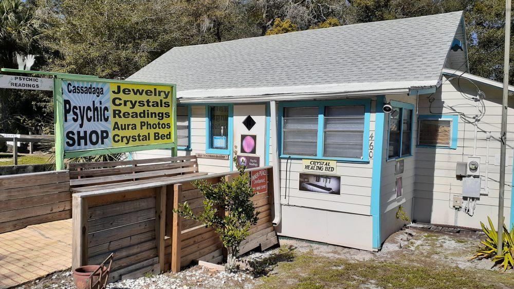Cassadaga Psychic Shop: 460 Cassadaga Rd, Lake Helen, FL