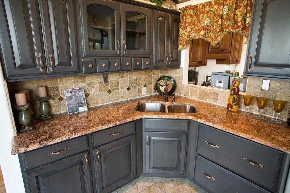 Photo Of Austin Counter Tops   Austin, TX, United States. Juparana Bordeaux  Granite
