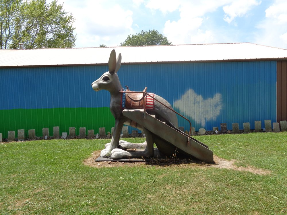 Henry's Rabbit Ranch Home: 1107 Historic Old Rt 66, Staunton, IL